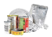 Aluminum and Steel Cans, Foil and Pie Tins