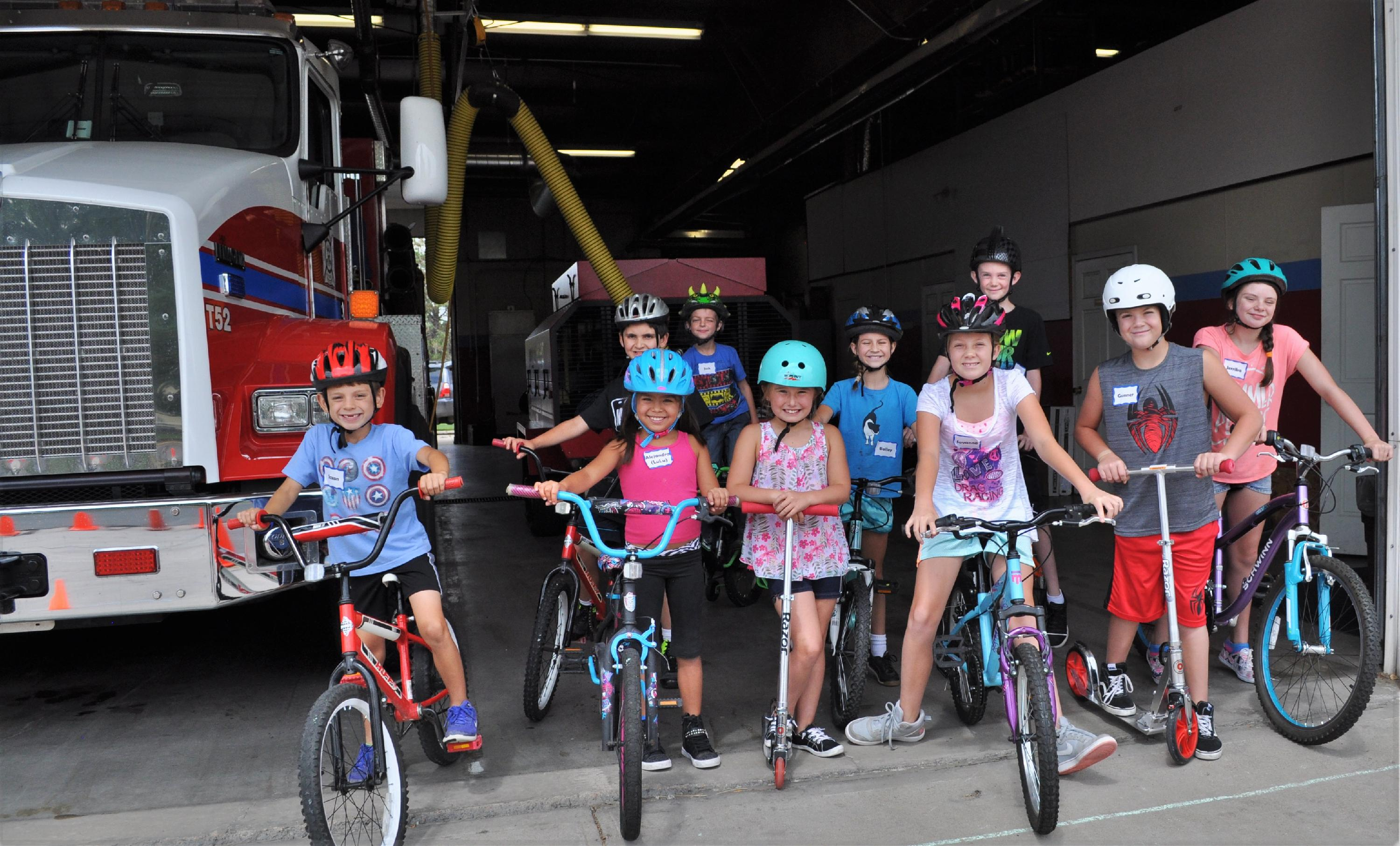 Kids Academy Bike Safety Day