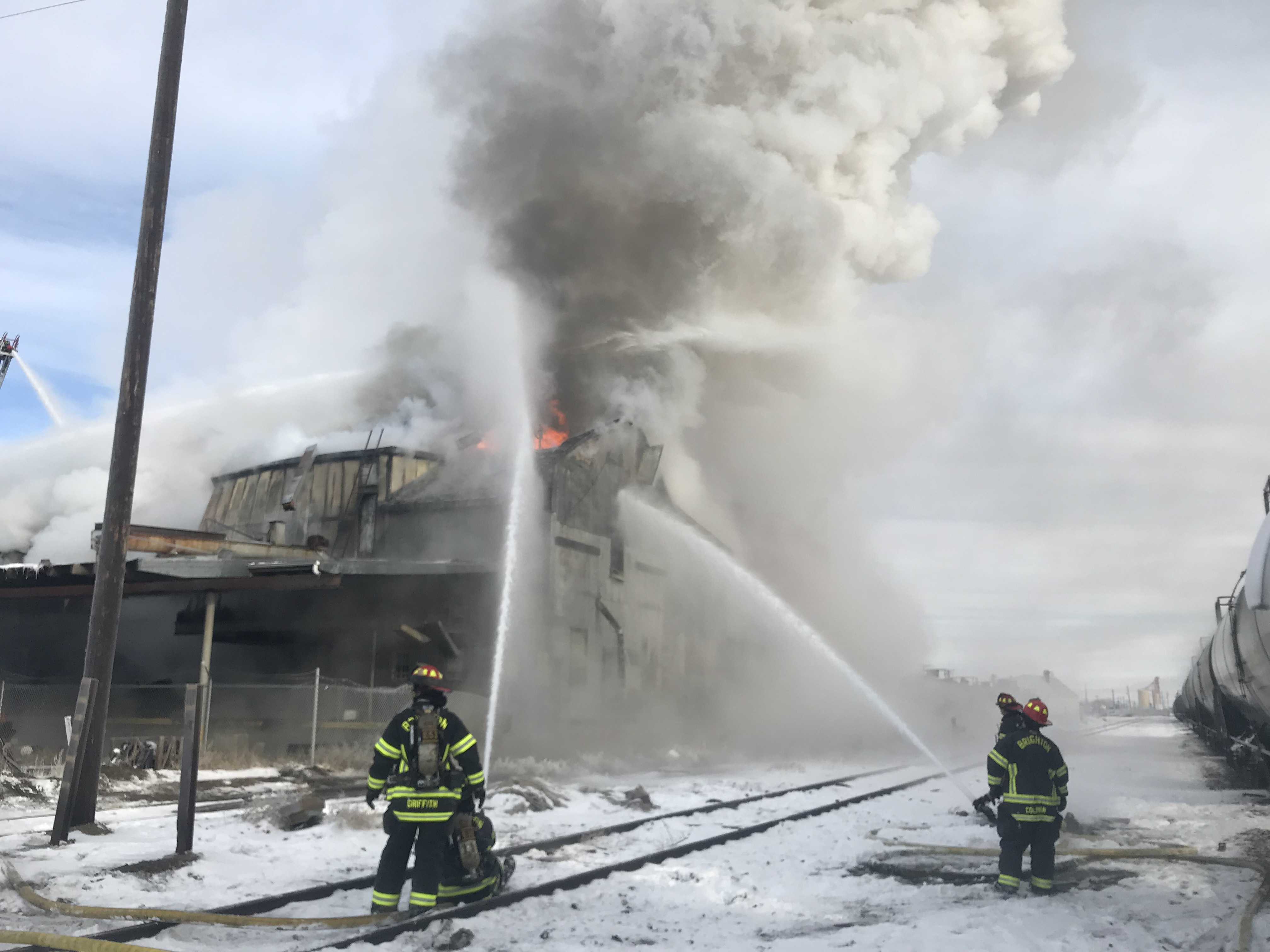 North Main Fire