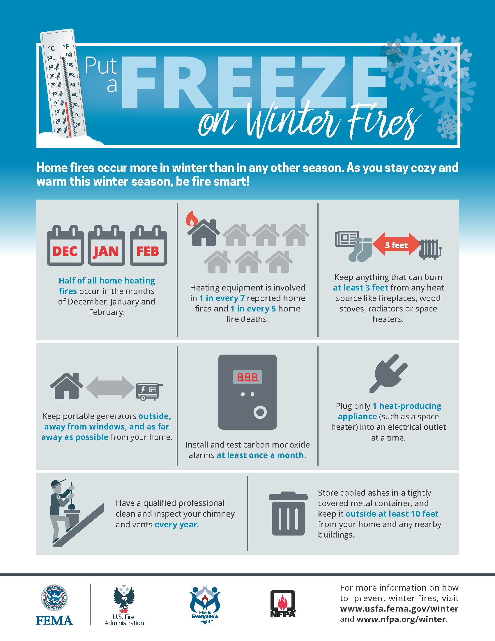 Winter Safety Info