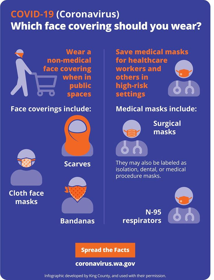 Face Mask Infographic