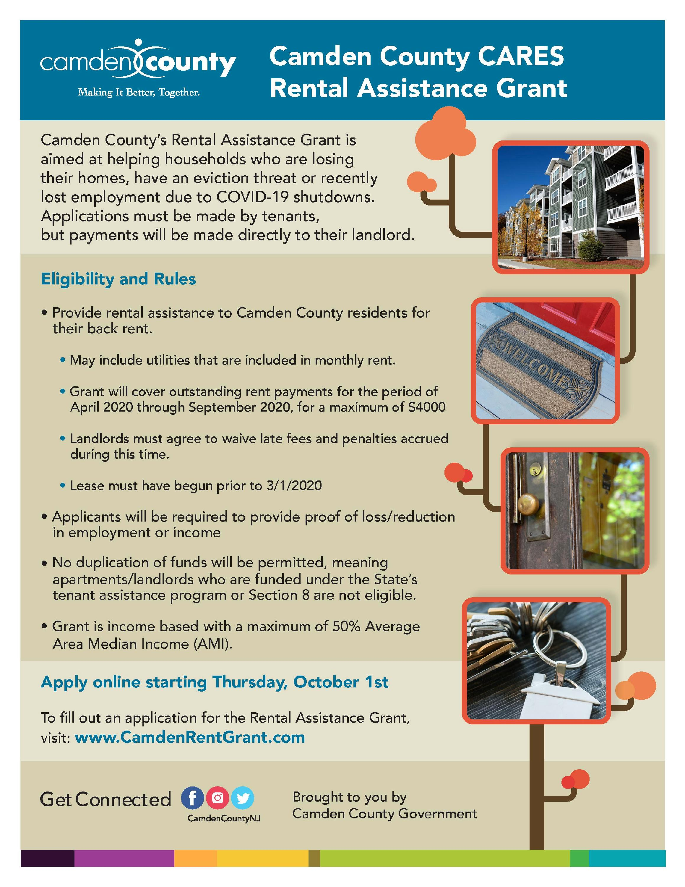 9582  - Camden County Cares - Rental Assistance - FlyerV3