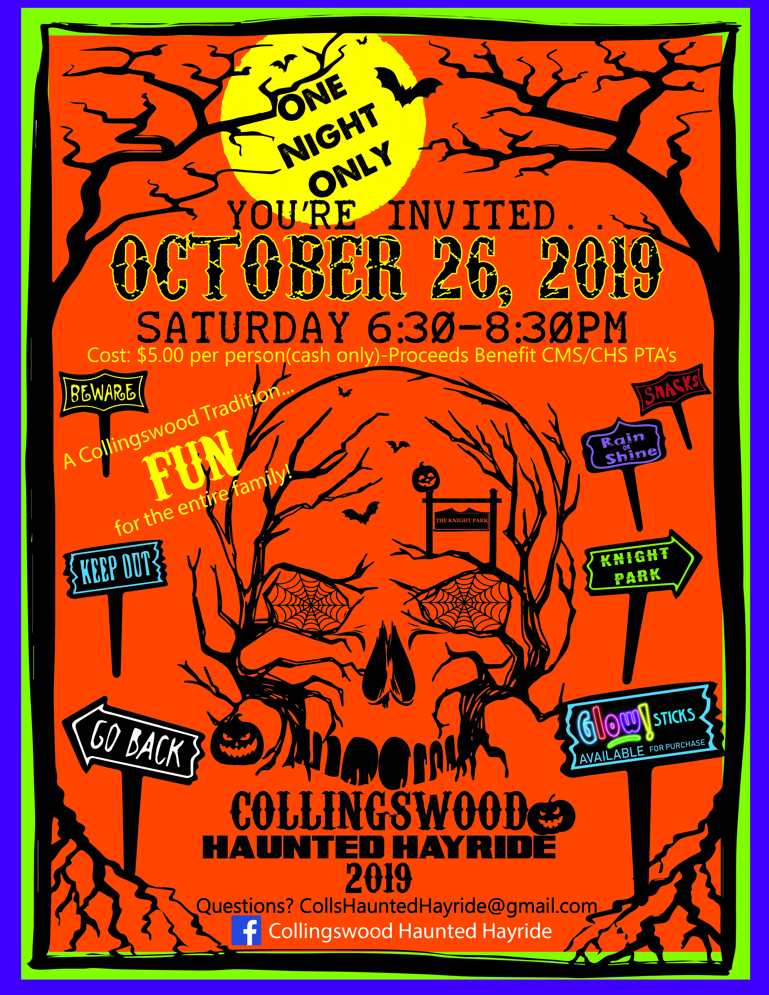 COLLINGSWOOD HAUNTED HAYRIDE  FYLER-FINAL-01 - 07-09-2019