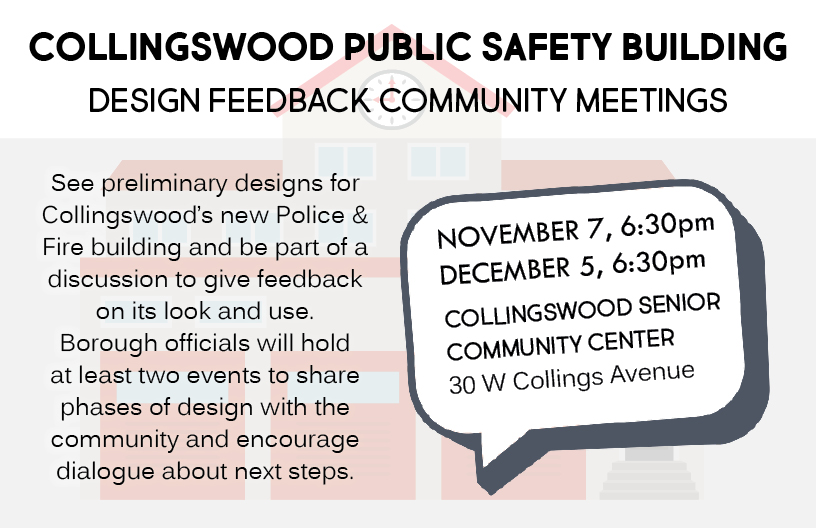Public Safety Building feedback design meetings