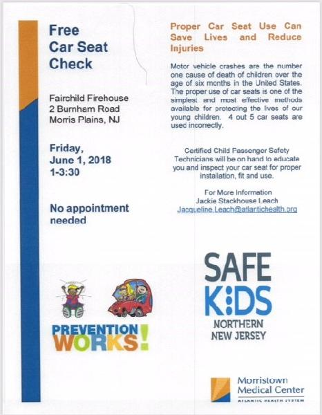 Child Seat Checkpoint