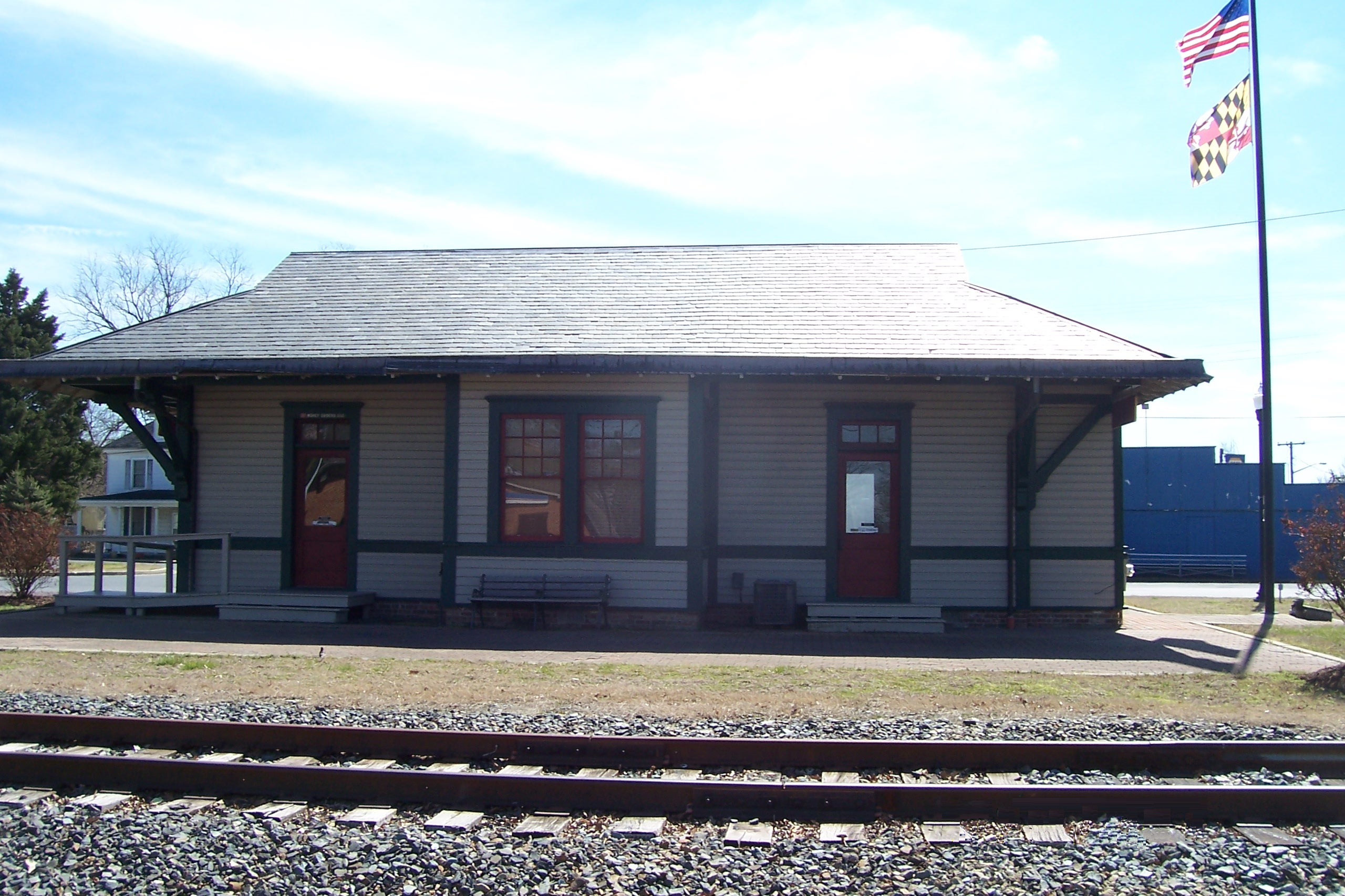 Hurlock train station - 2