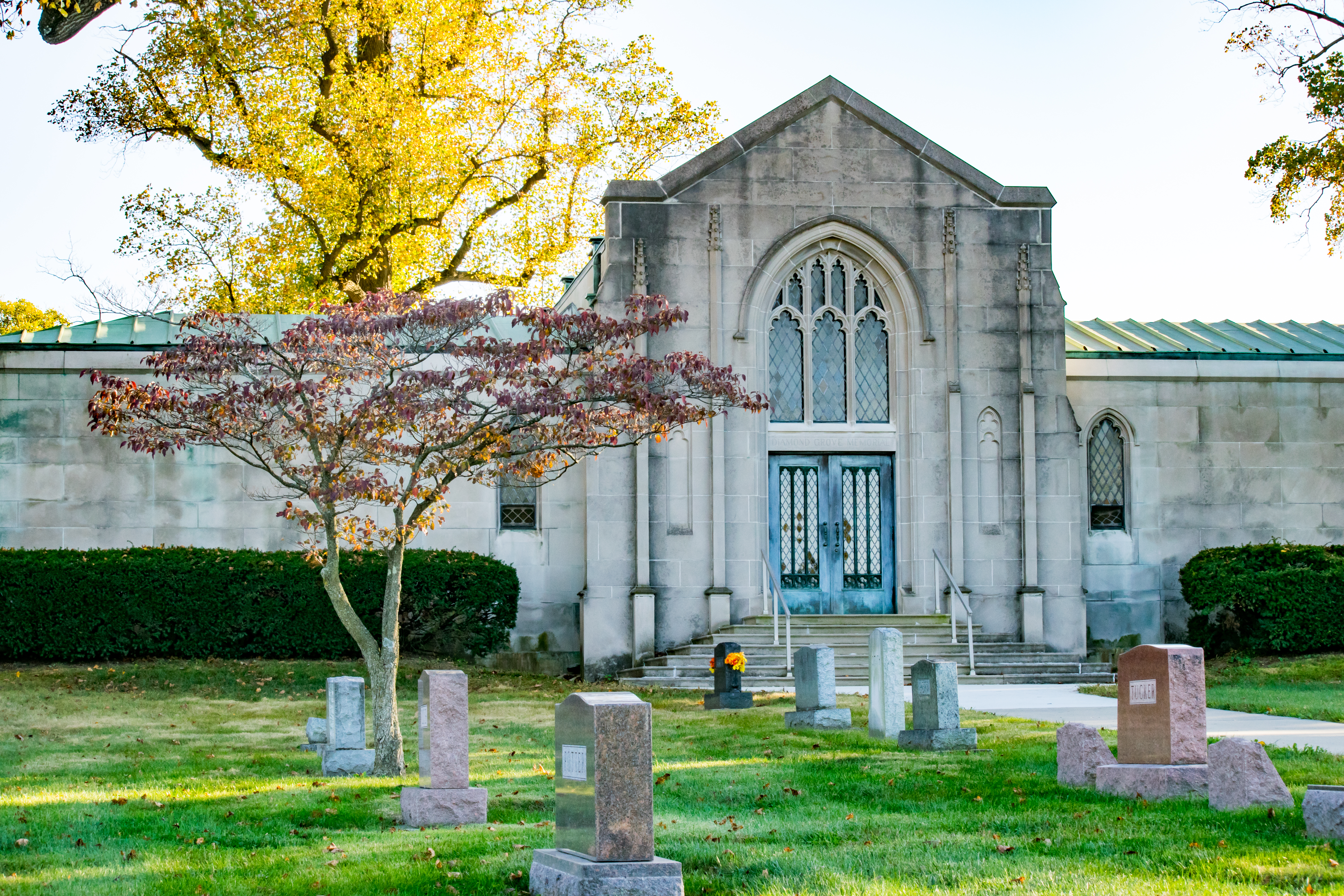 Diamond Grove Cemetery Mausoleum