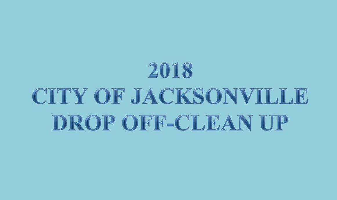 2018 City Wide Drop Off - Clean Up