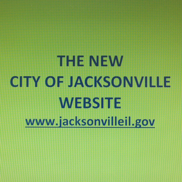 www.jacksonvilleil.gov City New Website