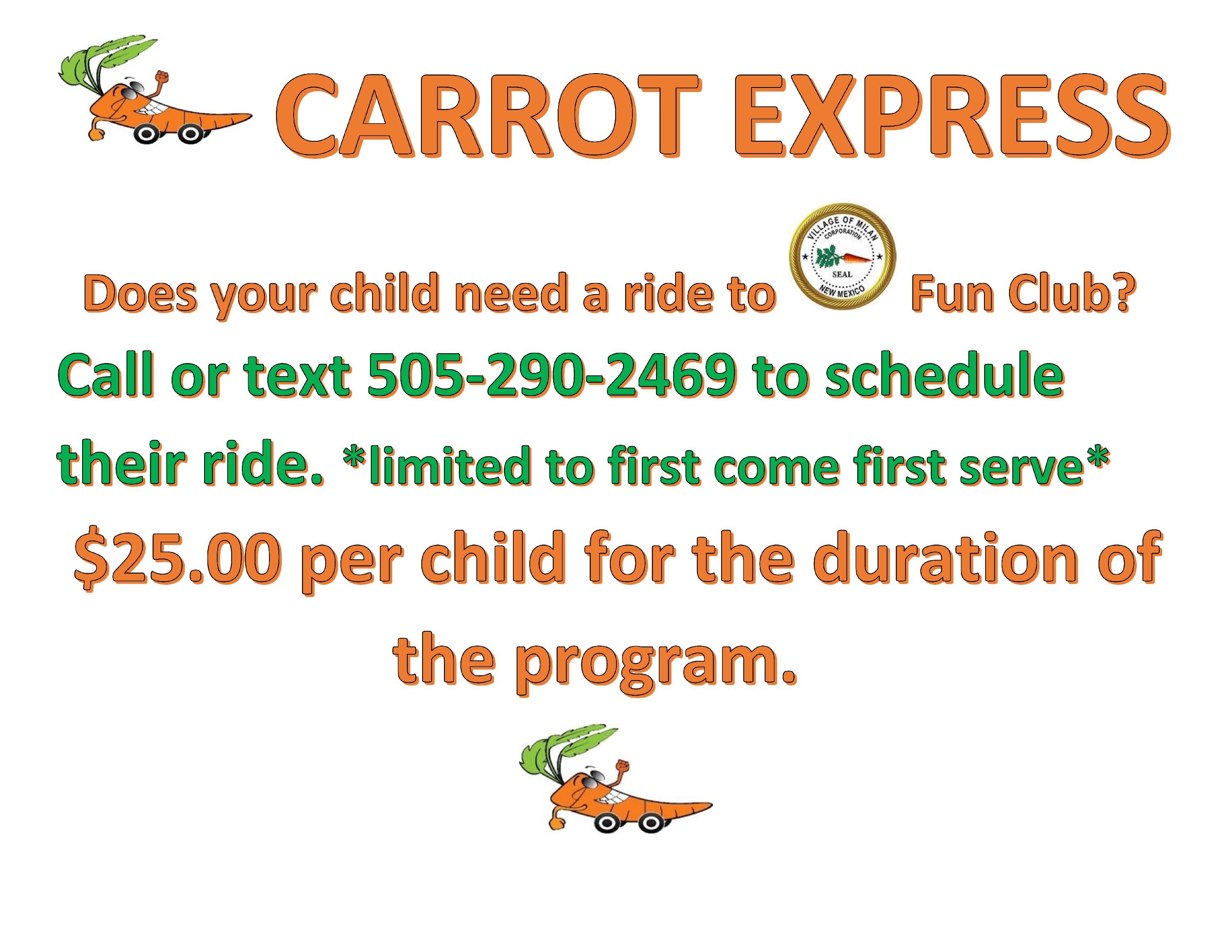 carrot sign for fun club_001