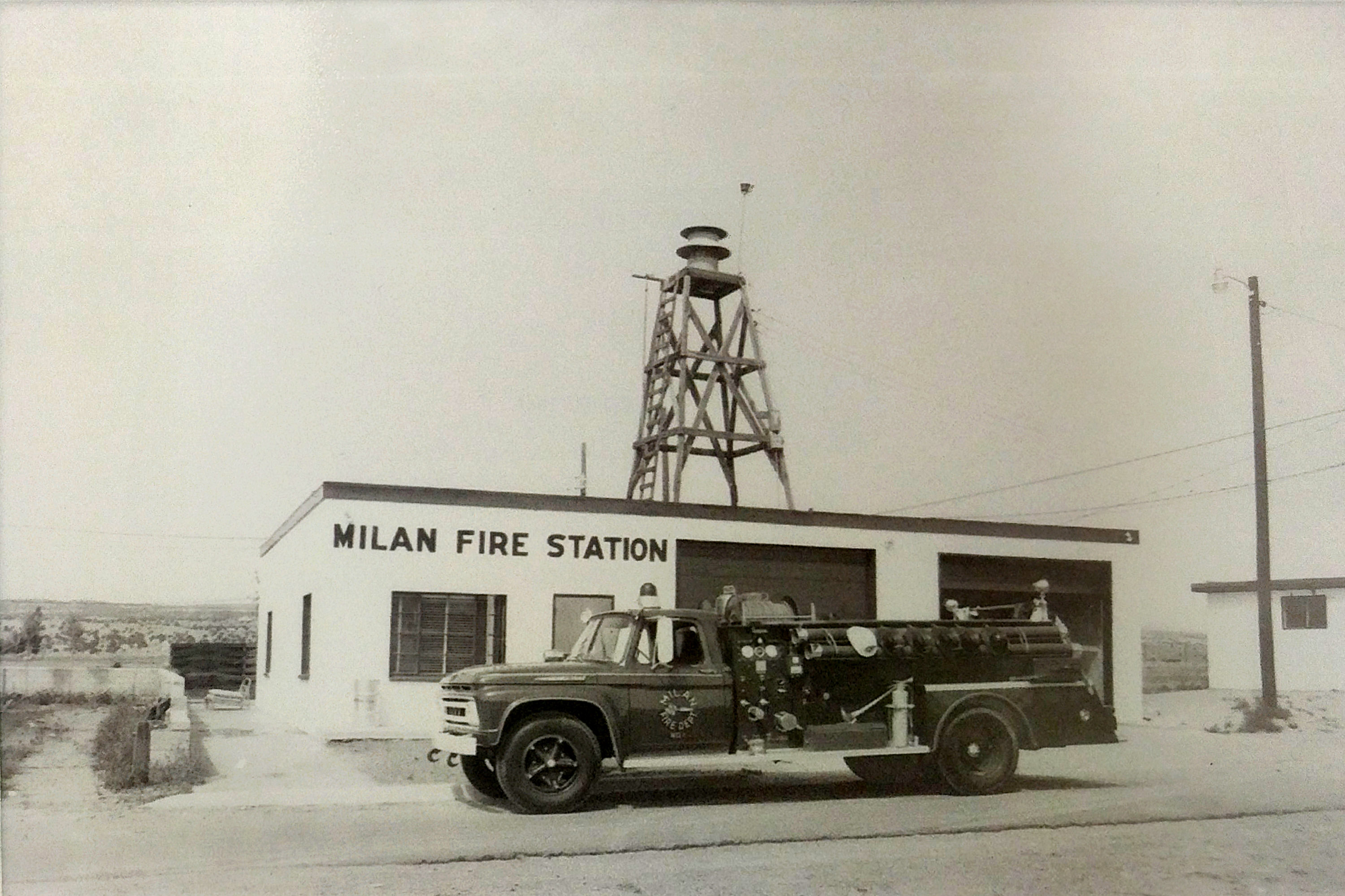 Milan Fire Station (Original Site) 1965