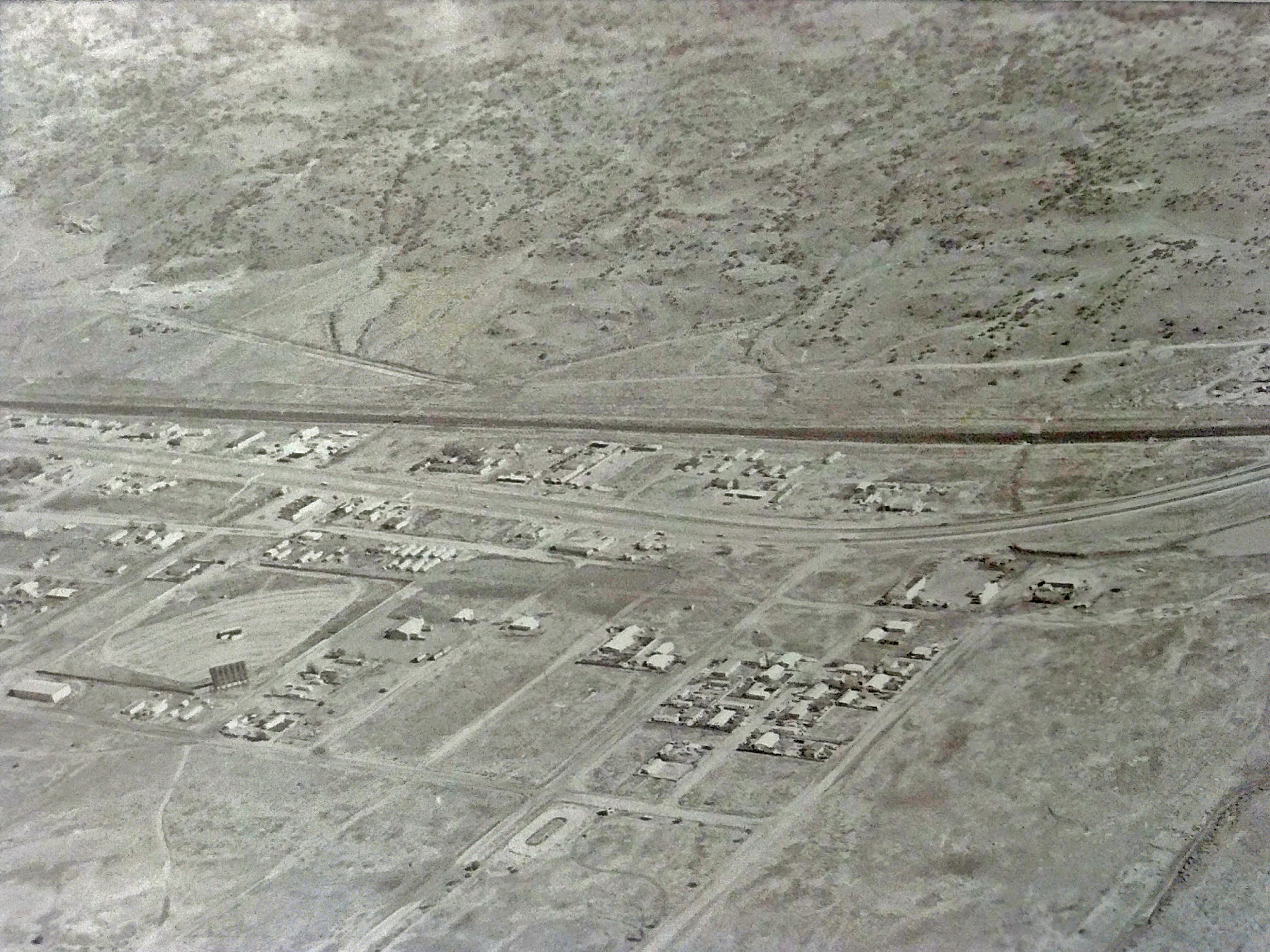 Village of Milan Aerial 1960