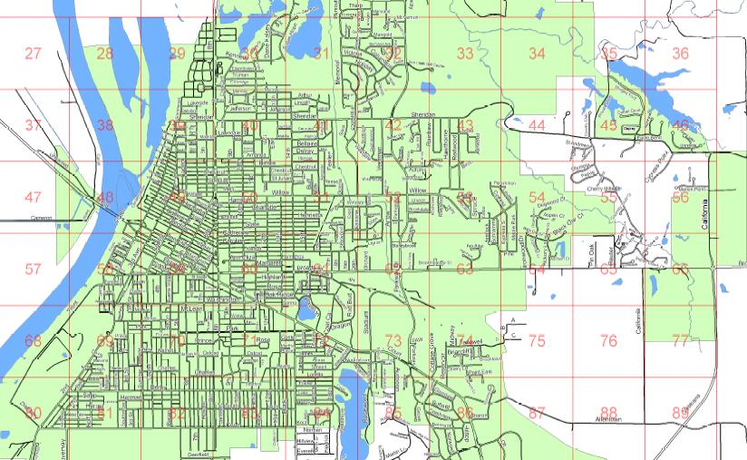 For Your Convenience Below Are Various Pdf Maps Of The City Arranged By Department
