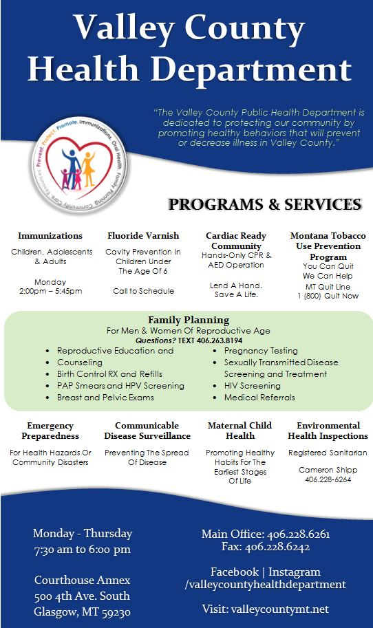 Valley County Public Health Department