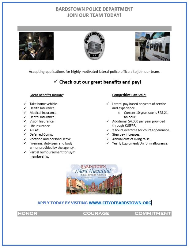 Hiring Lateral Police Officers