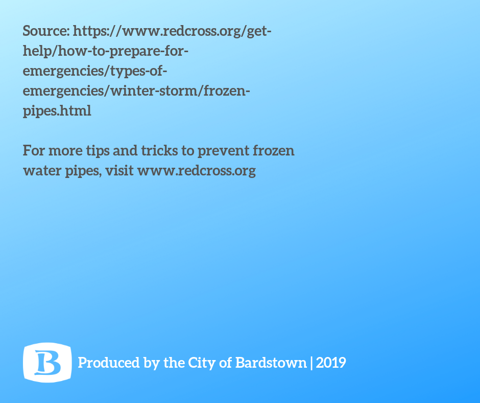 Frozen Pipes Tips 7