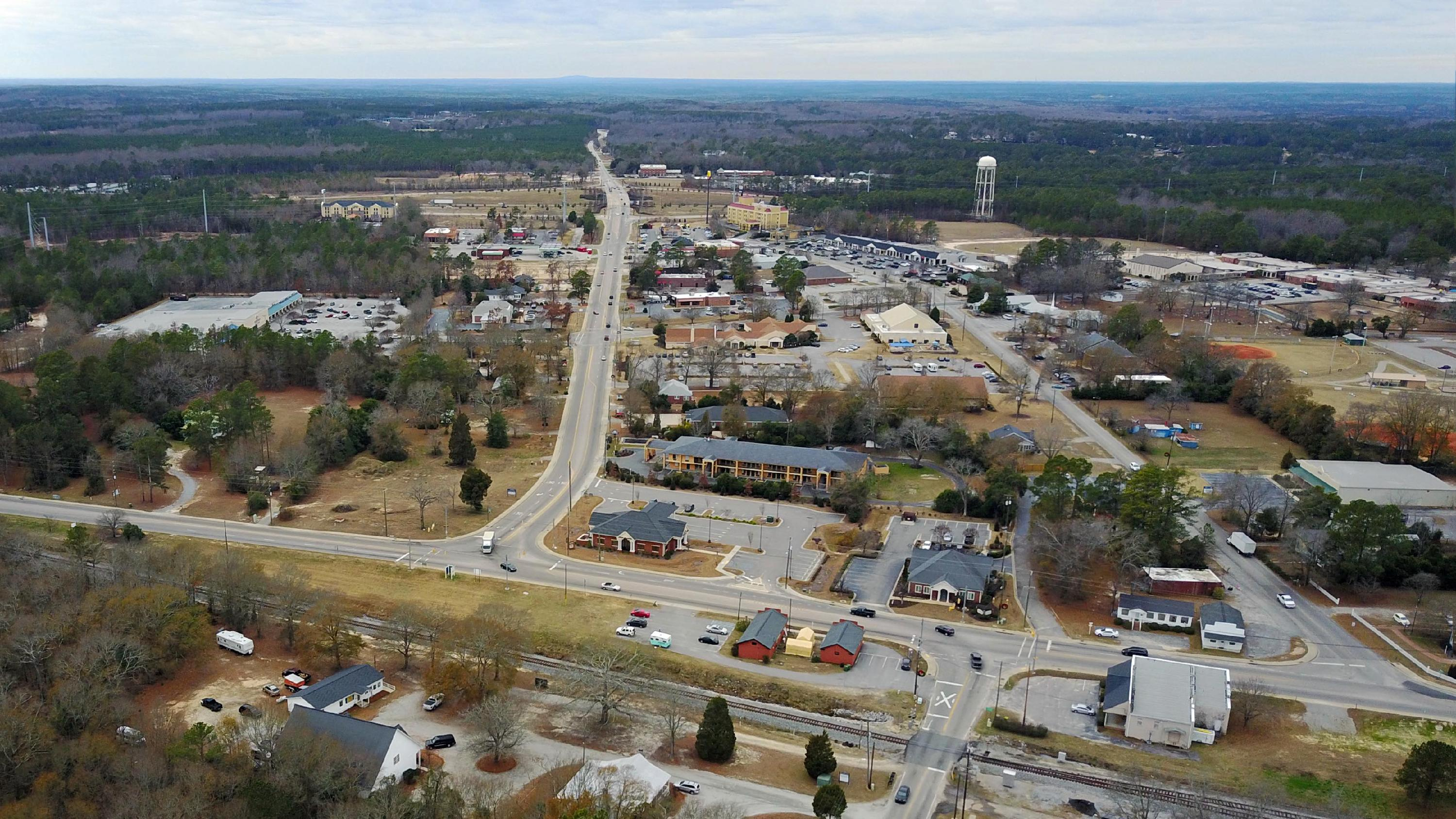 Blythewood Road Aerial by Tree Top Photography