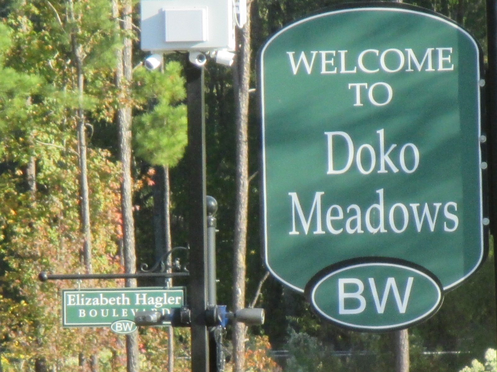 Doko Meadows Sign by K2 Communications