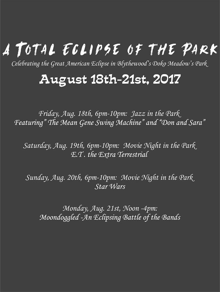 GBCoC A Total Eclipse of the Park