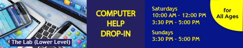 NEWSLETTER-ALL AGES-Computer Help-Drop-In-NOV-2019