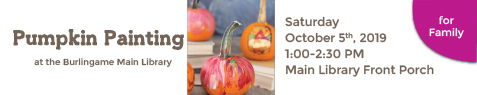 NEWSLETTER-FAMILY-Pumpkin Painting at main-October-2019