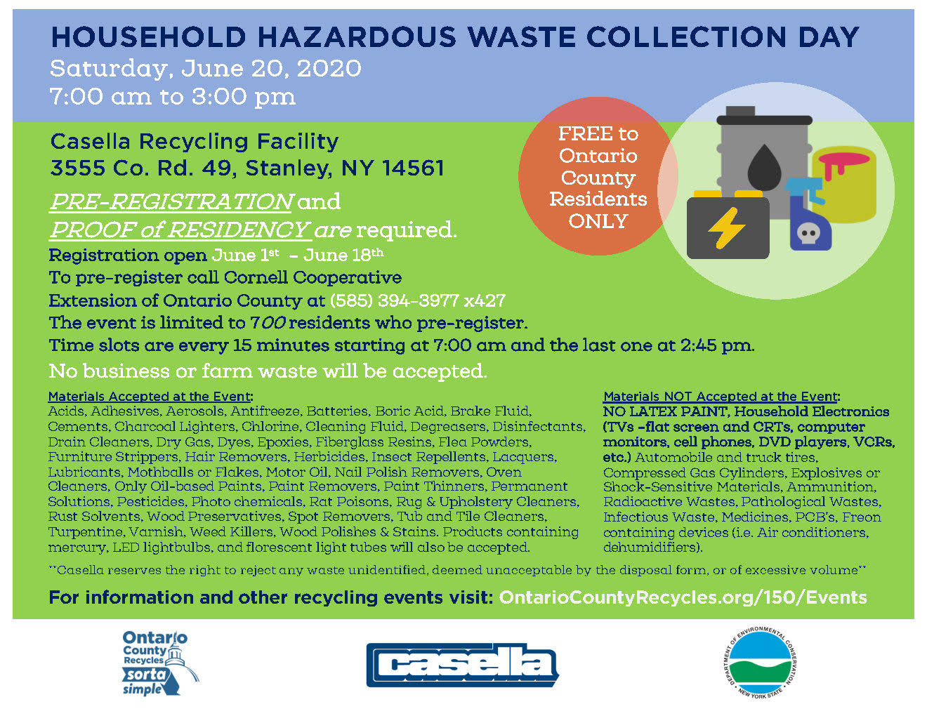 2020.06.04 Household waste event