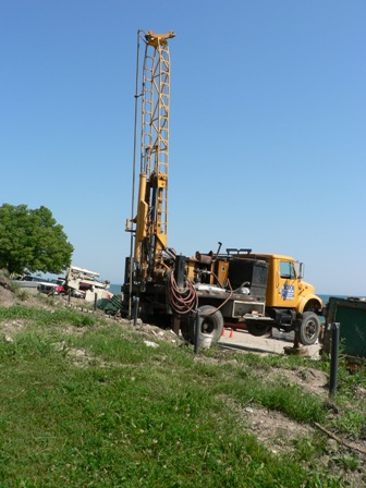 Clearwell drilling