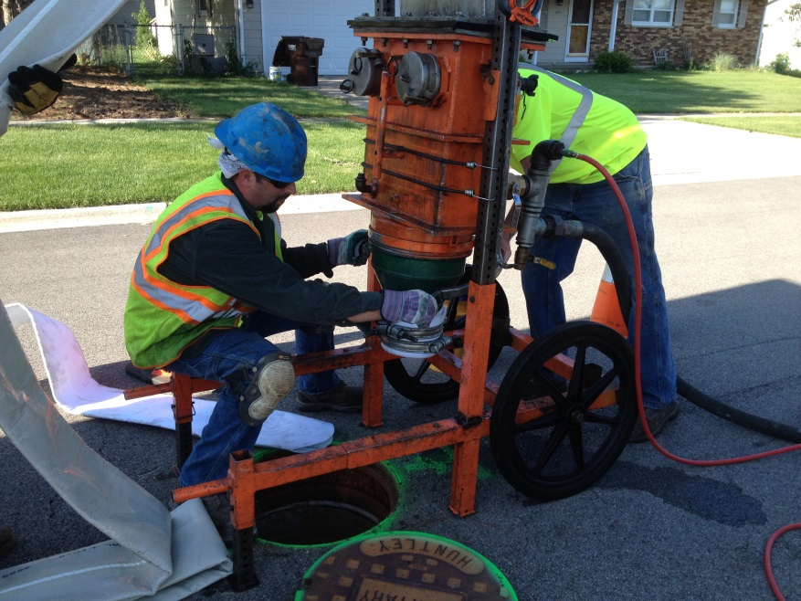 Sewer Televising & Lining