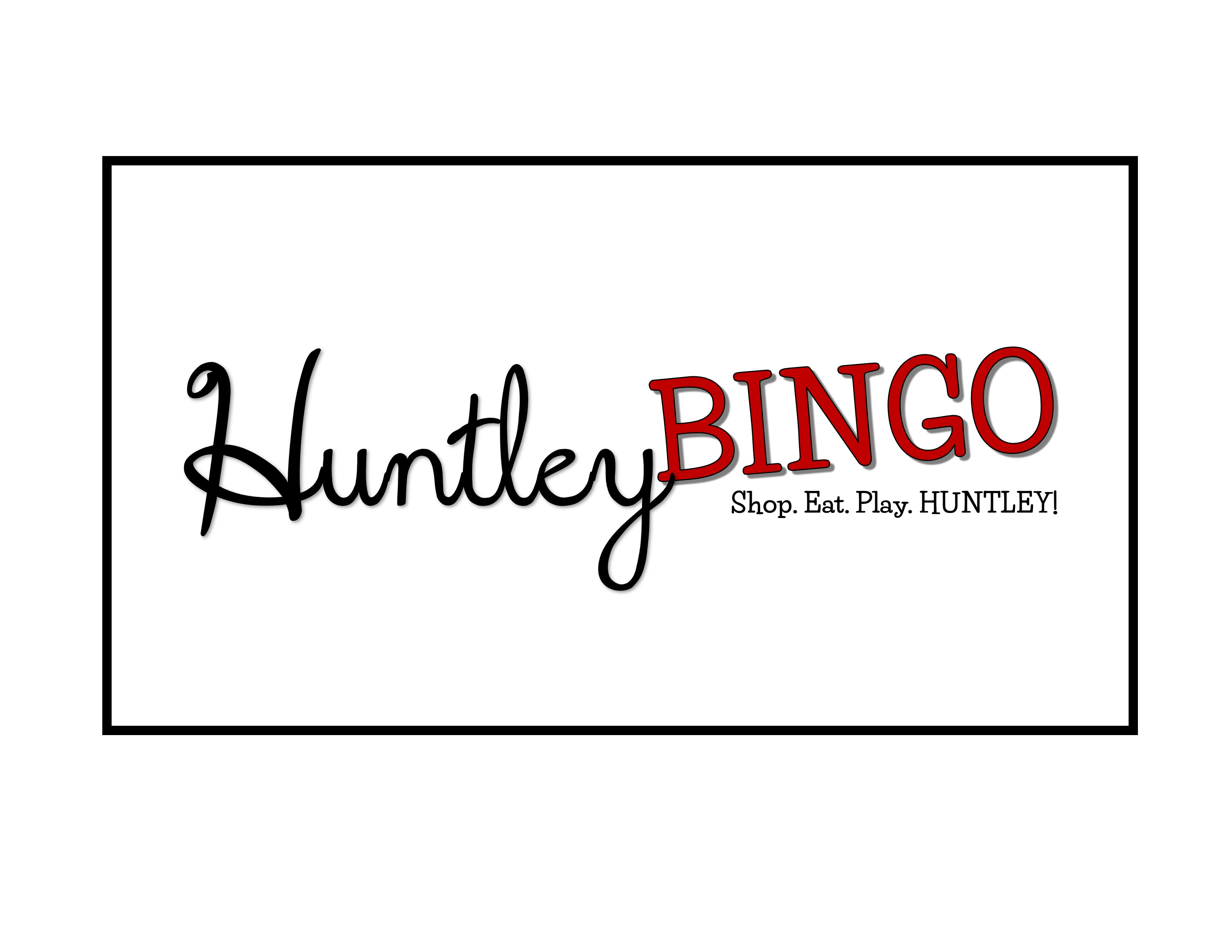 huntley bingo banner