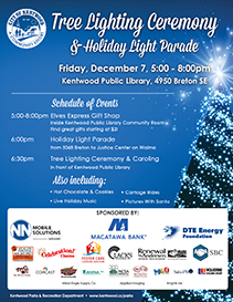 2018 Tree Lighting Flyer with sponsors thumbnail