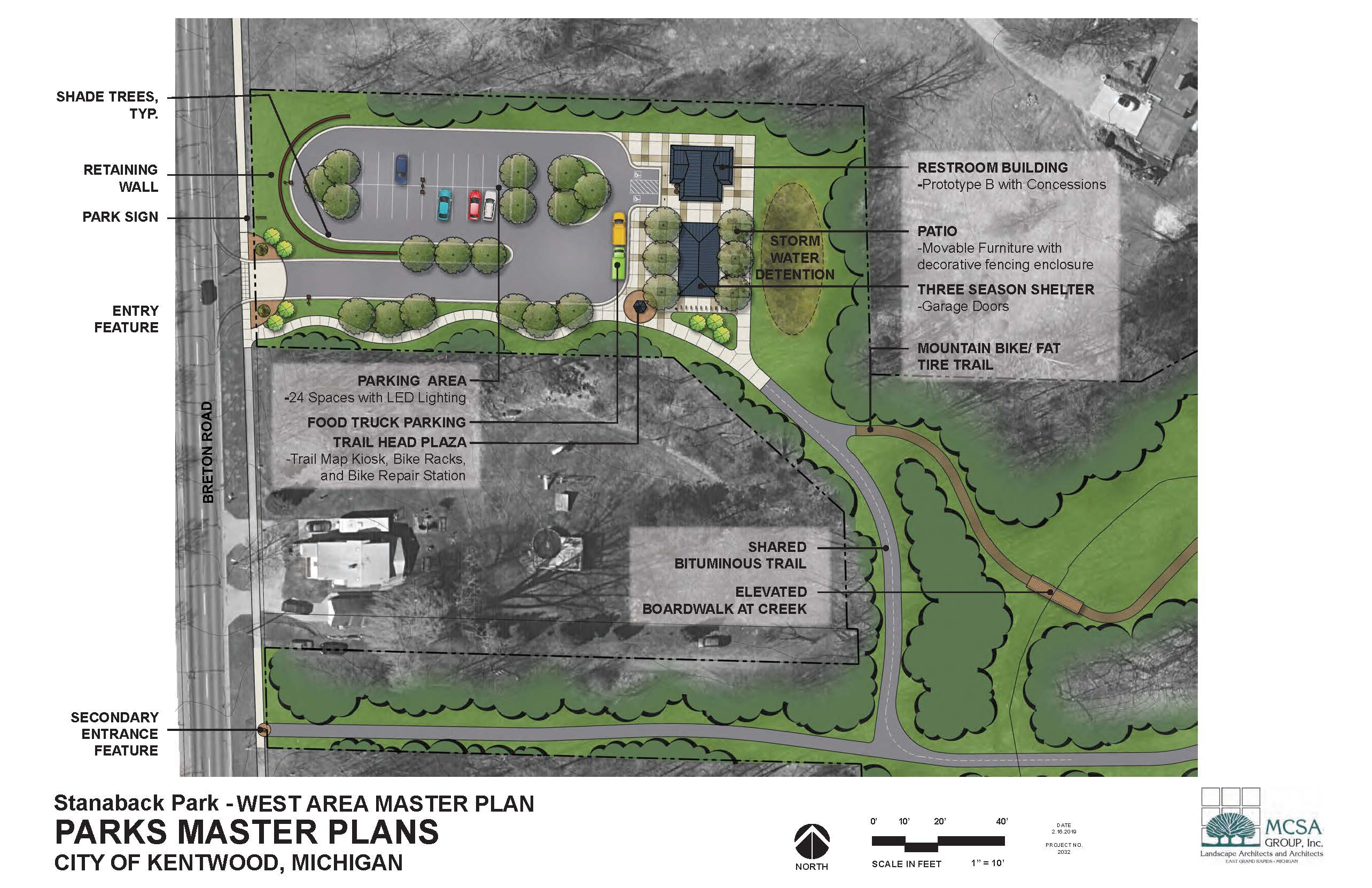 Stanaback Park west plan