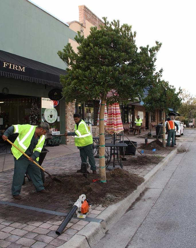 Downtown Leesburg Improvements Begin