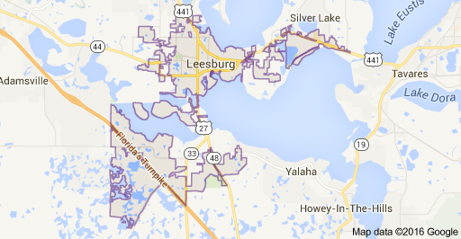 Leesburg Florida Map.Welcome To Leesburg