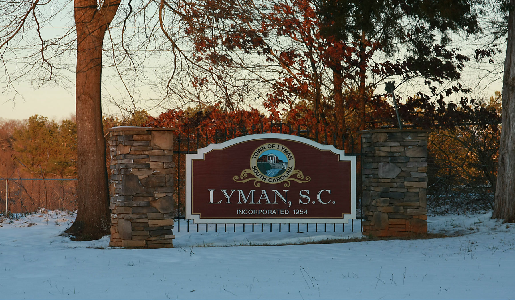 town of lyman snow website