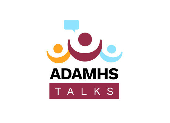 ADAMHS TALKS logo