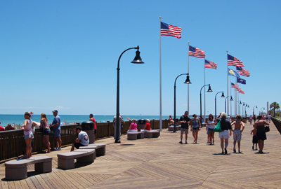 Boardwalk fLAGS