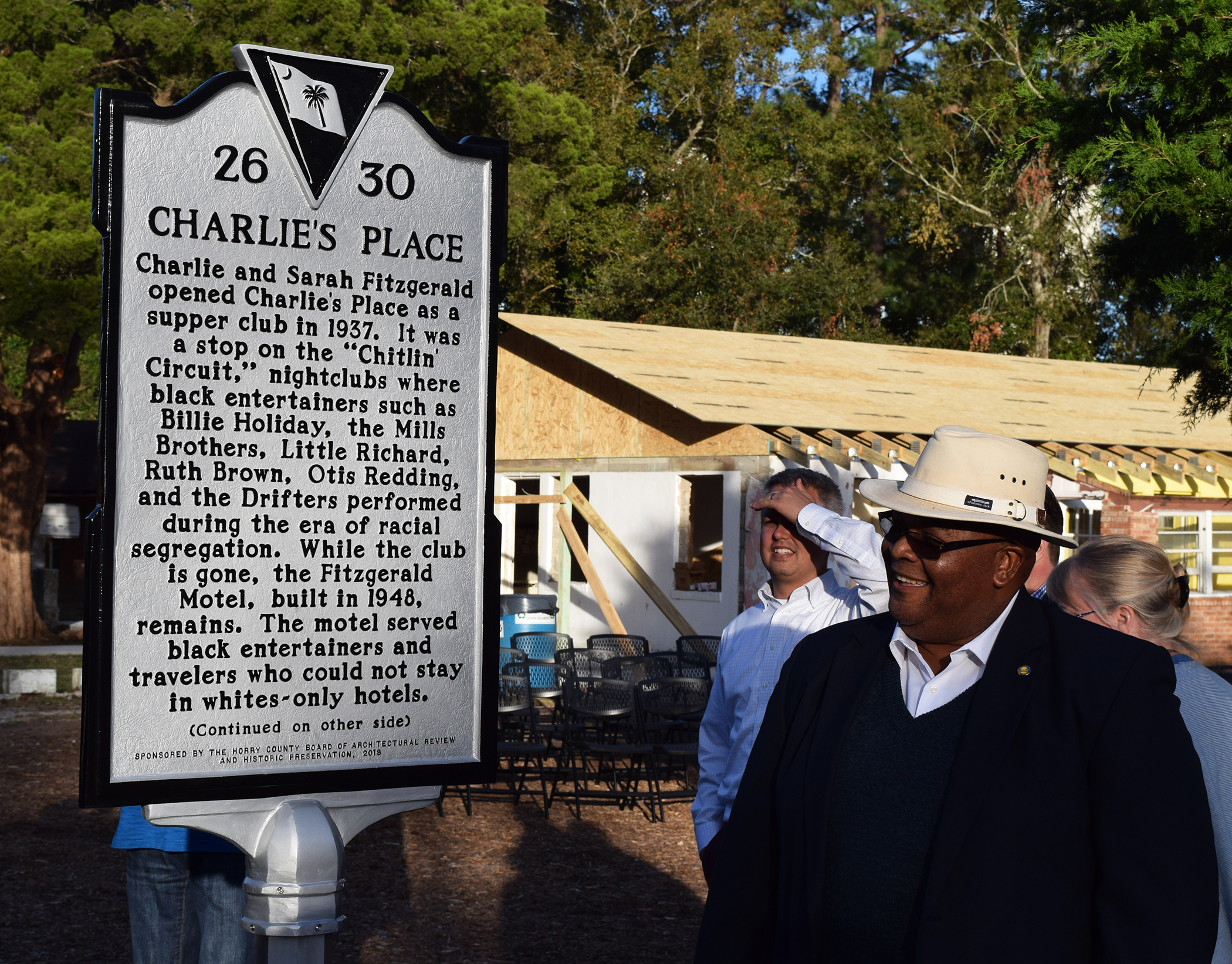 Charlie's Place Marker Unveiled