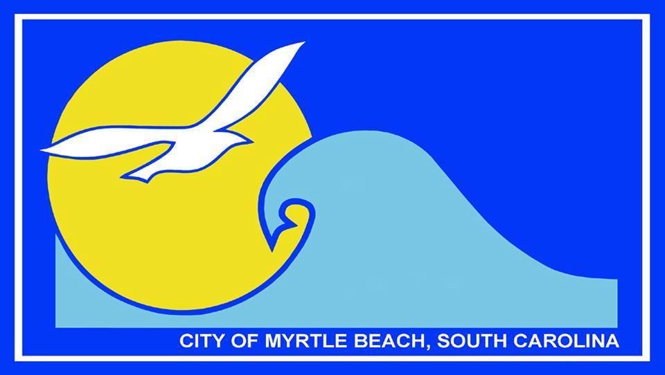 City Of Myrtle Beach Flag