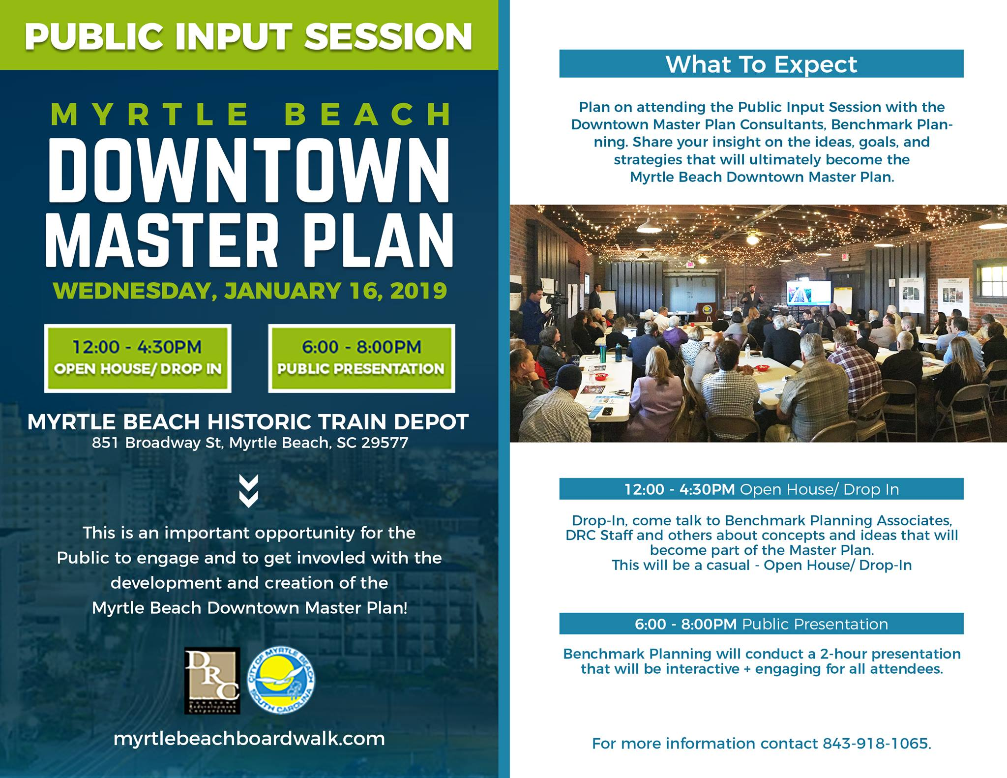 Downtown Master Plan Flyer