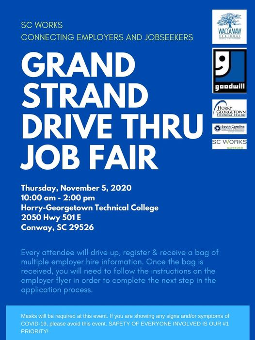 Drive Thru Job Fair