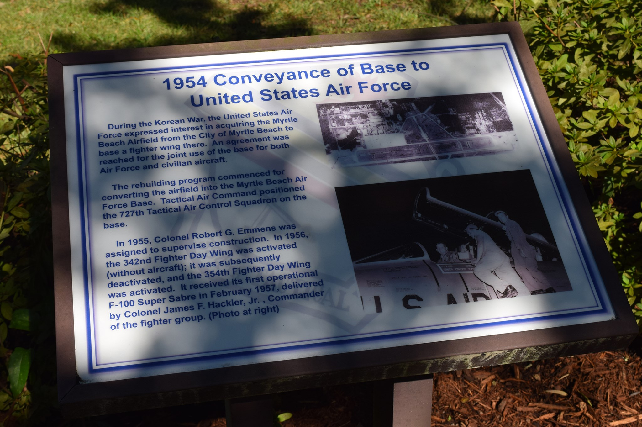 Historical Marker replacement