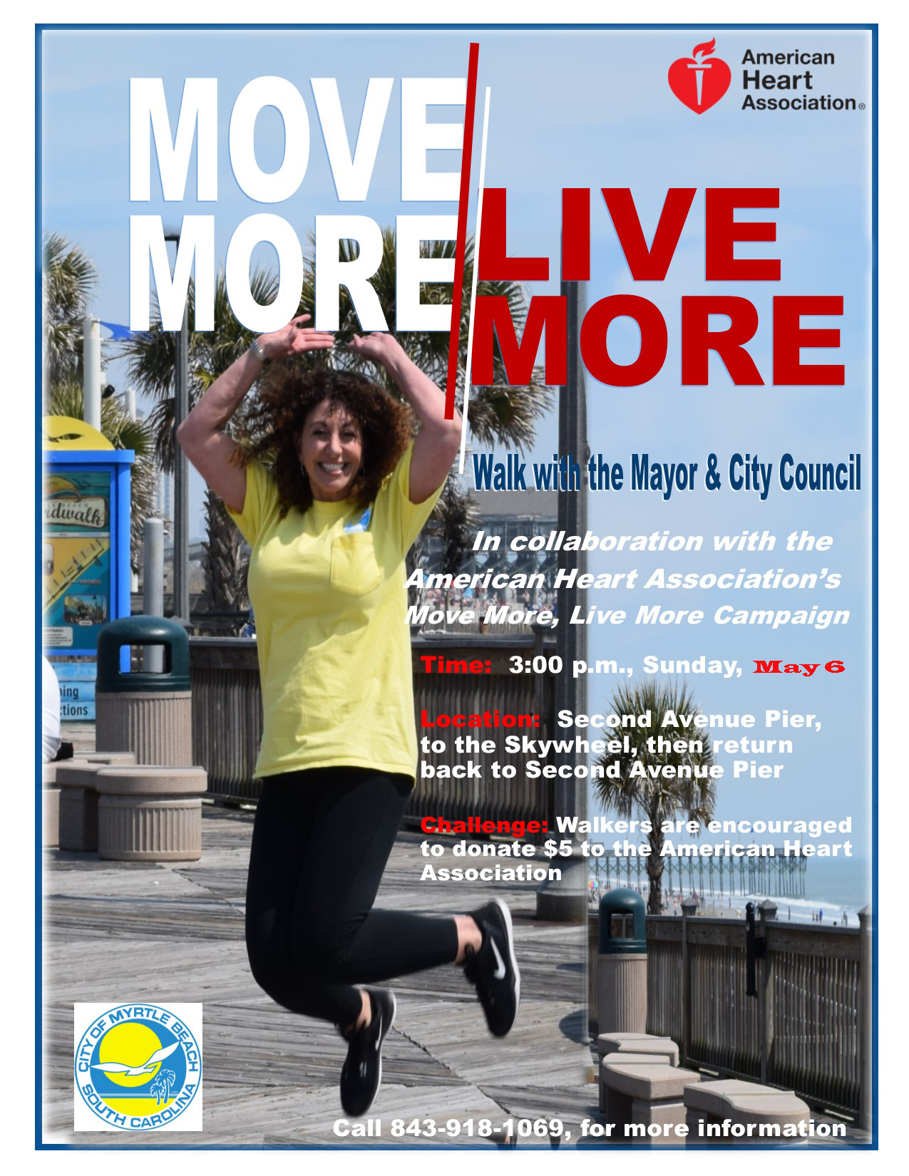 Mayor Brenda Heart Walk Flier