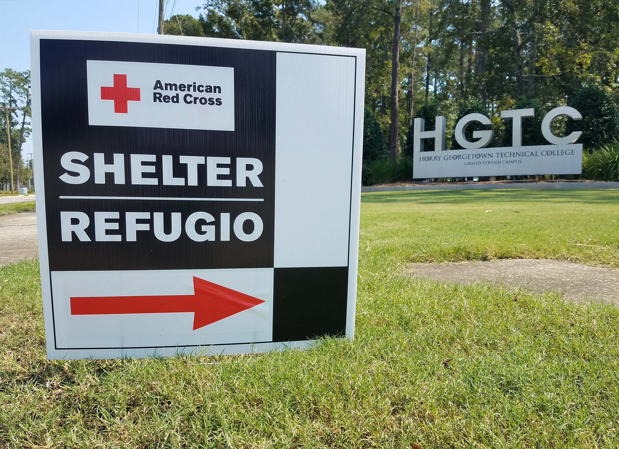 Red Cross Shelter HGTC Florence