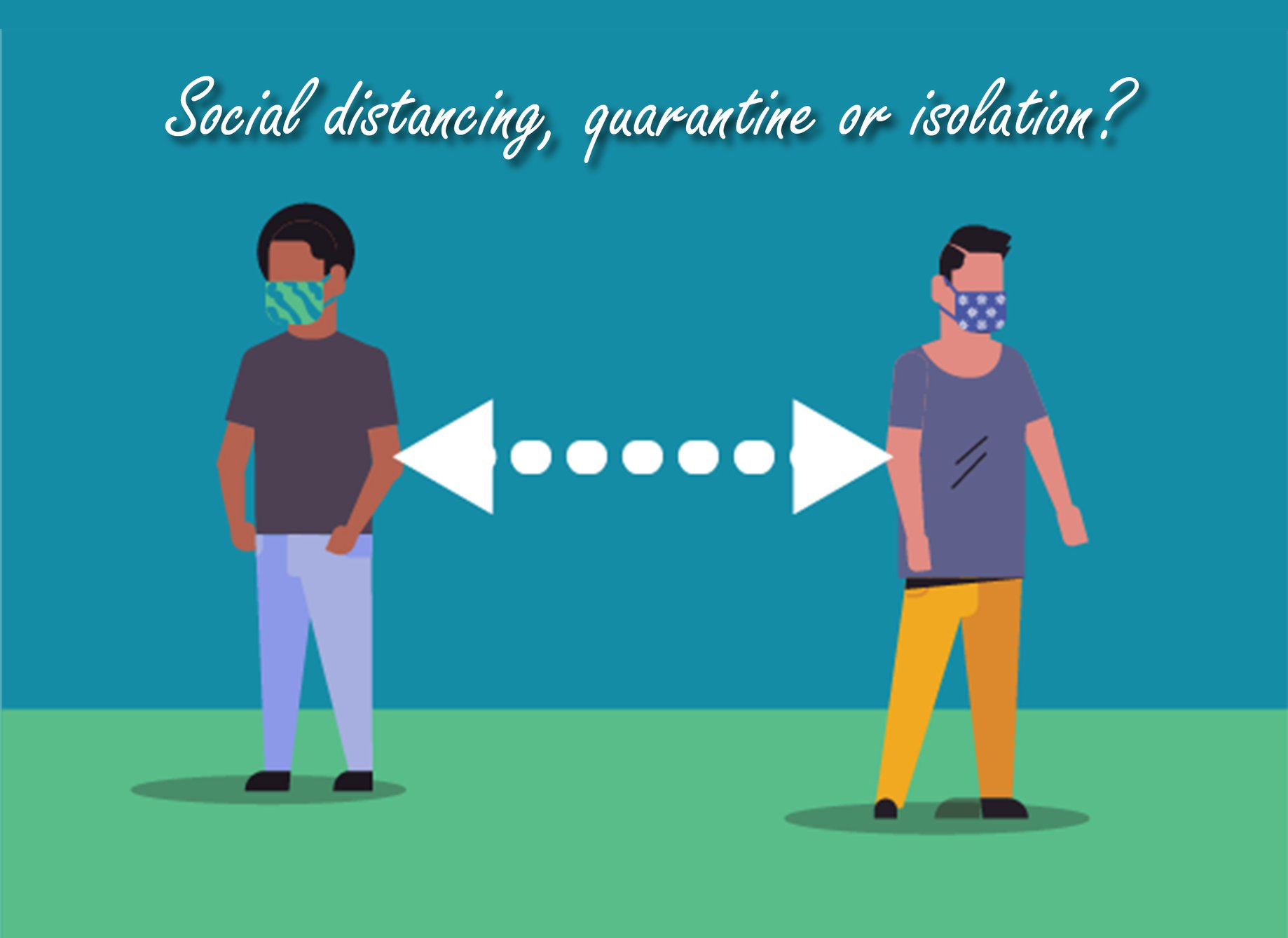 Social Distancing Quarantining Isolation