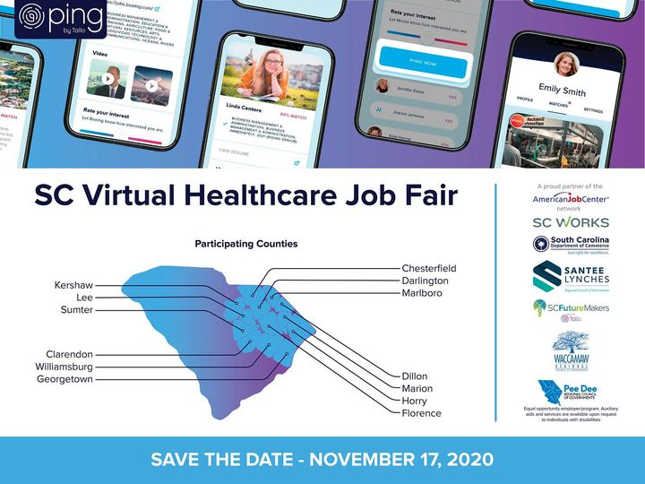 Virtual Healthcare job fair