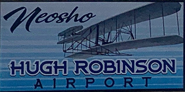 hugh robinson airport sign2
