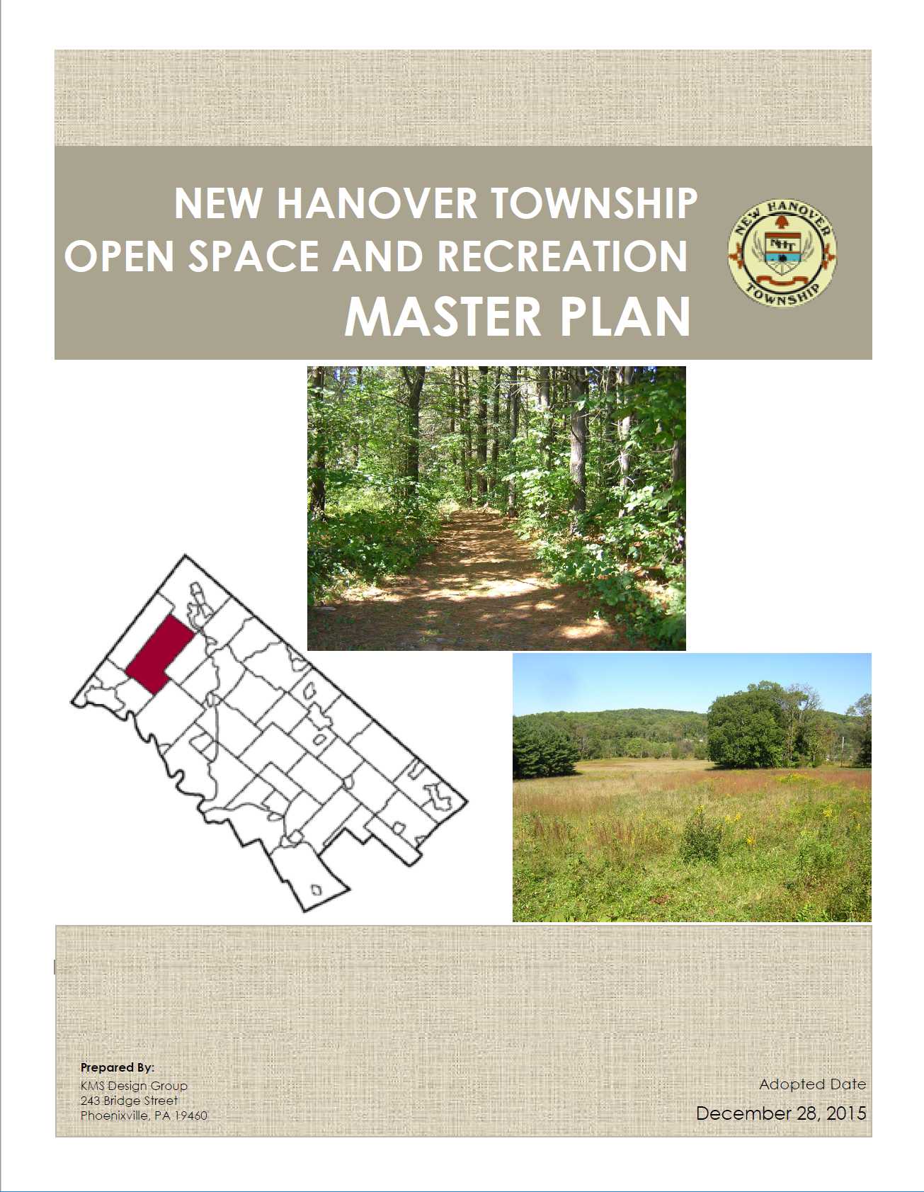 NHT Open Space and Recreation Master Plan Cover