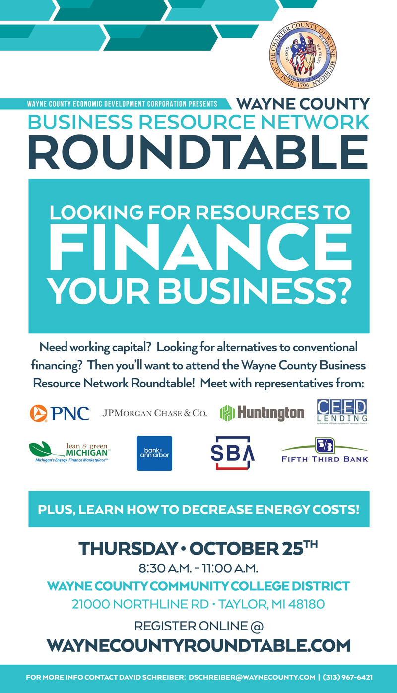 Wayne County Business Resource Network is hosting a roundtable