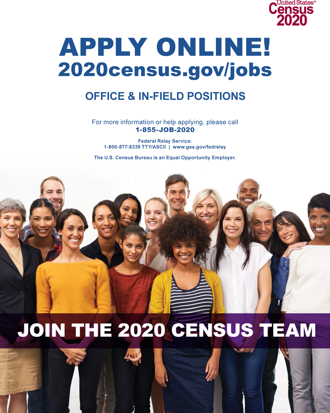 2020 Census Application Information form