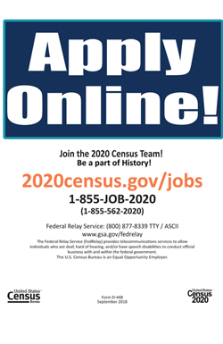 2020 Census Application Information form 4
